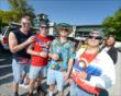 Fans celebrate Coors Light Carb Day at IMS -- Photo by: Chris Owens