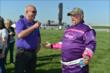 Larry the Cable Guy meets with Bobby Rahal at IMS -- Photo by: Dana Garrett