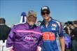 Larry the Cable Guy with Graham Rahal -- Photo by: Dana Garrett