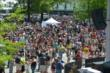 Crowd in the Pagoda Plaza at IMS -- Photo by: Dana Garrett