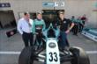 James Davison and Matthew Brabham unveil a Sir Jack Brabham tribute decal -- Photo by: John Cote