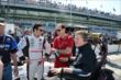 Simon Pagenaud with Sam Schmidt in pit lane -- Photo by: Jim Haines