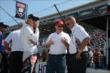 Bobby and Graham Rahal with Al Unser Jr. -- Photo by: Jim Haines