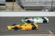 Ryan Hunter-Reay and Carlos Munoz -- Photo by: Jim Haines