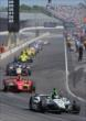 Verizon IndyCar Series practice is underway on Carb Day at IMS -- Photo by: Walter Kuhn
