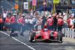 Scott Dixon during the Tag Heuer Pit Stop Competition -- Photo by: Walter Kuhn