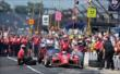 Scott Dixon the Tag Heuer Pit Stop Competition -- Photo by: Walter Kuhn
