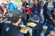 Ryan Hunter-Reay sings an autograph -- Photo by: Bret Kelley