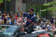 Graham Rahal at the 500 Parade -- Photo by: Dana Garrett