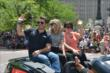 Oriol Servia at the 500 Parade -- Photo by: Dana Garrett