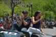 James Hinchcliffe at the 500 Parade -- Photo by: Dana Garrett