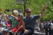 Ed Carpenter at the 500 Parade -- Photo by: Dana Garrett