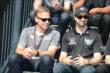 Ed Carpenter and James Hinchcliffe -- Photo by: Jim Haines