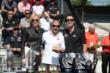 Tony Kanaan recieves his winner's ring -- Photo by: Jim Haines
