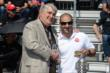 Tony Kanaan receives his Indy 500 winner's ring -- Photo by: Jim Haines