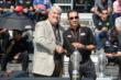 Helio Castroneves receives his starters ring -- Photo by: Jim Haines