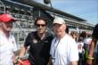 Dario Franchitti with Parnelli Jones -- Photo by: Jim Haines