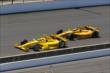 Helio Castroneves and Ryan Hunter-Reay -- Photo by: Bret Kelley