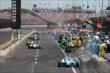 Pit Lane at IMS -- Photo by: Bret Kelley