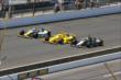 Cars head down the front-stretch -- Photo by: Bret Kelley