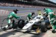Ed Carpenter pit stop -- Photo by: Chris Jones