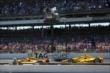 The second closest finish in Indy 500 history -- Photo by: Chris Jones