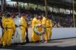Ryan Hunter-Reay and his crew -- Photo by: Chris Jones
