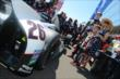 Kurt Busch prior to the start of the Indianapolis 500 -- Photo by: Chris Owens
