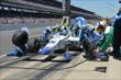 JR Hildebrand in pit lane -- Photo by: Chris Owens