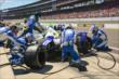 JR Hildebrand during a pit stop -- Photo by: Doug Mathews