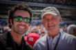 Dario Franchitti and Parnelli Jones -- Photo by: Forrest Mellott