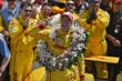 Ryan Hunter-Reay in Victory Lane -- Photo by: John Cote