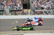 Jack Hawksworth, Justin Wilson and Mikhail Aleshin at IMS -- Photo by: Jim Haines