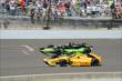 Ryan Hunter-Reay and Jack Hawksworth -- Photo by: Jim Haines