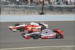 Tony Kanaan and Juan Pablo Montoya at IMS -- Photo by: Jim Haines
