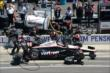 Will Power in pit lane -- Photo by: Jim Haines
