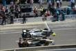 Josef Newgarden and Townsend Bell -- Photo by: Jim Haines