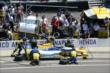 Marco Andretti in pit lane -- Photo by: Jim Haines
