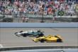 Ed Carpenter and Ryan Hunter-Reay -- Photo by: Jim Haines