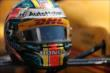 Ryan Hunter-Reay's helmet -- Photo by: Shawn Gritzmacher