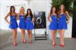 The Indy Girls prior to the 2014 Indianapolis 500 Victory Banquet -- Photo by: Chris Jones