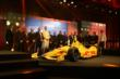The Andretti Autosport team on stage during the 2014 Indianapolis 500 Victory Banquet -- Photo by: Chris Jones