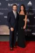 James Hinchcliffe and his girlfriend, Kirsten, arrive to the 2014 Indianapolis 500 Victory Banquet -- Photo by: John Cote