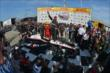 Will Power celebrates his win in the ABC Supply Wisconsin 250 at the Milwaukee Mile -- Photo by: Chris Owens
