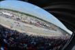 A great crowd on hand for the ABC Supply Wisconsin 250 at the Milwaukee Mile -- Photo by: Chris Owens