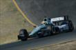 Graham Rahal on course during the GoPro Grand Prix of Sonoma at Sonoma Raceway -- Photo by: Chris Owens