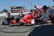 The Target Chip Ganassi Racing team of Scott Dixon go to work during the GoPro Grand Prix of Sonoma at Sonoma Raceway -- Photo by: Chris Owens