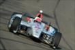 Simon Pagenaud enters Turn 3 during the Open Test at Auto Club Speedway -- Photo by: Chris Owens