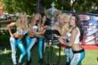 The UFD Girls surround the Astor Cup at The Grove LA -- Photo by: Chris Owens