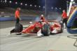 Scott Dixon leaves pit lane -- Photo by: Chris Owens